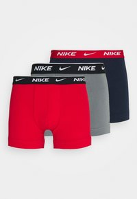 Nike Underwear - DAY STRETCH TRUNK 3 PACK - Panties - red - 5
