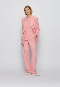 BOSS - Trousers - pink - 1