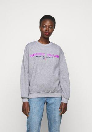 SPORTS CLUB - Sweatshirt - grey