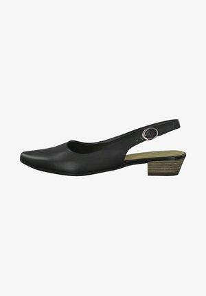 Escarpins à plateforme - black leather
