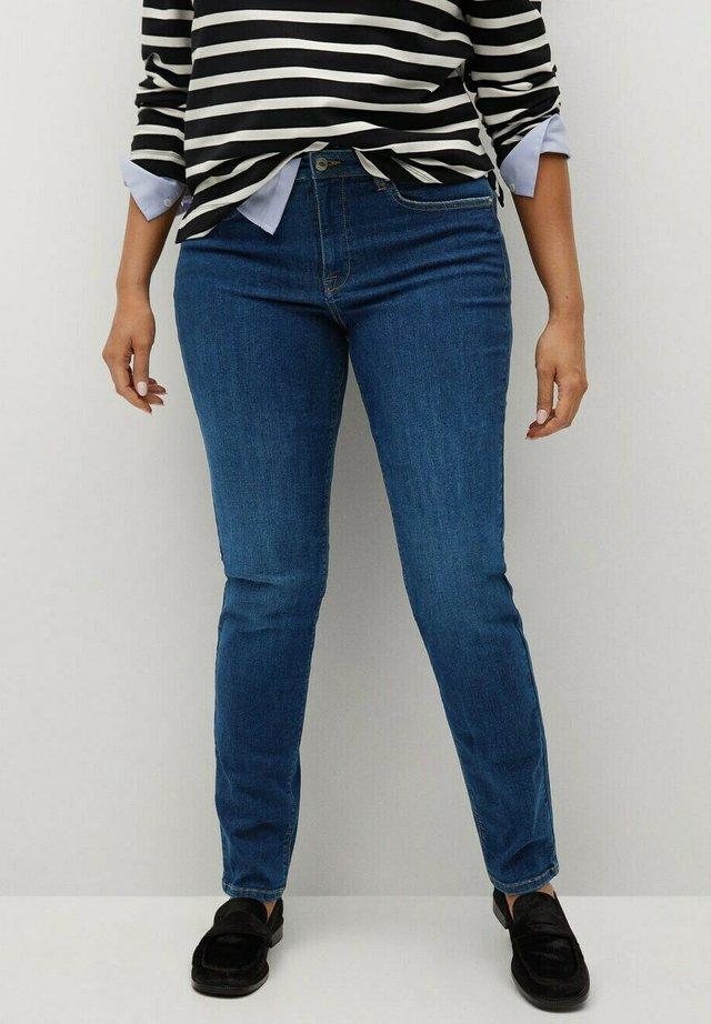 SUSAN - Jeans slim fit - dunkelblau