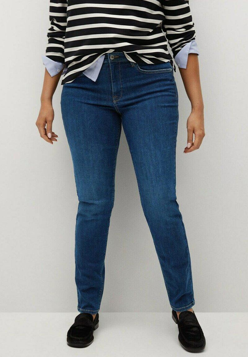 Violeta by Mango - SUSAN - Jeans slim fit - dunkelblau