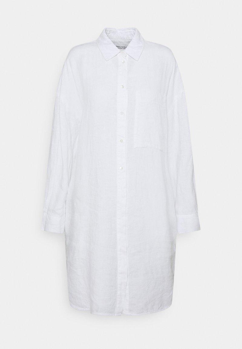 Marc O'Polo - Shirt dress - white linen