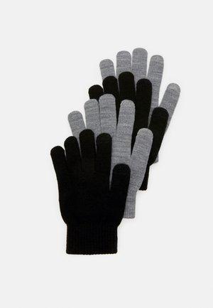 SMART GLOVES 2 PACK - Gloves - black/grey