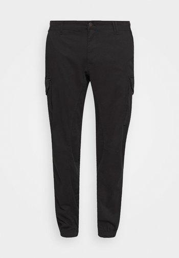 JJIPAUL JJFLAKE AKM - Pantaloni cargo - black