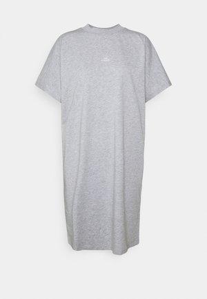 BROOKLYN DRESS - Jersey dress - grey melange