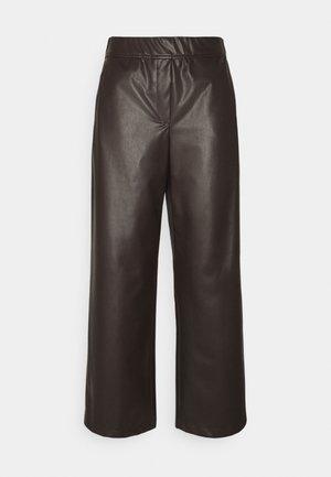 CULOTTE - Kalhoty - onyx brown