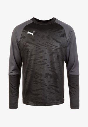 CUP TRAINING - Sports shirt - black/asphalt