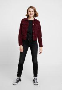 ONLY - ONLWESTA GLOBAL JACKET - Summer jacket - tawny port - 1