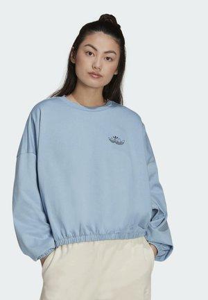 TRIPLE TREFOIL SWEATSHIRT - Sudadera - blue