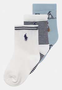 Polo Ralph Lauren - BEAR 3 PACK - Sokken - blue/white - 0