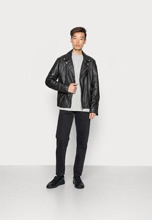 CREW 2 PACK - Basic T-shirt - black combo