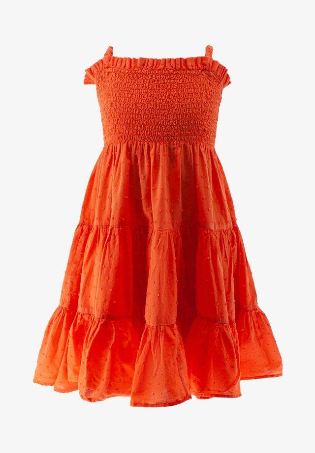 Vestito lungo - orange