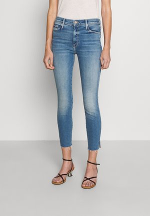 HIGH WAISTED VAMP FRAY - Jeans Skinny Fit - riding the cliffside