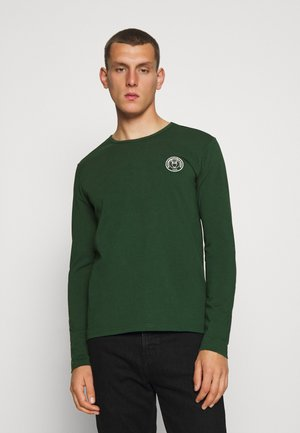 LOCUST BIG BACK PRINT LONG SLEEVE - Top s dlouhým rukávem - green