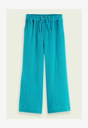 Trousers - deep sea
