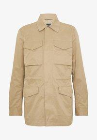 Burton Menswear London - POCKET SAFARI JACKET - Summer jacket - stone - 4