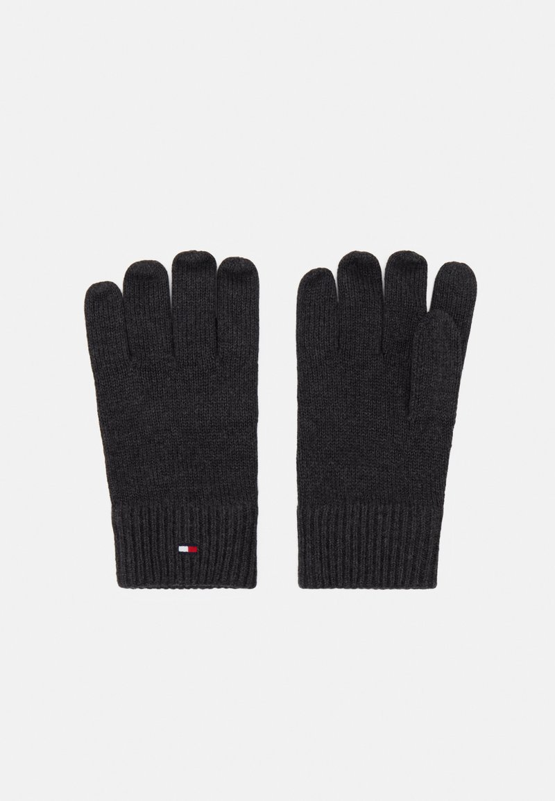 Tommy Hilfiger - GLOVES - Gloves - grey