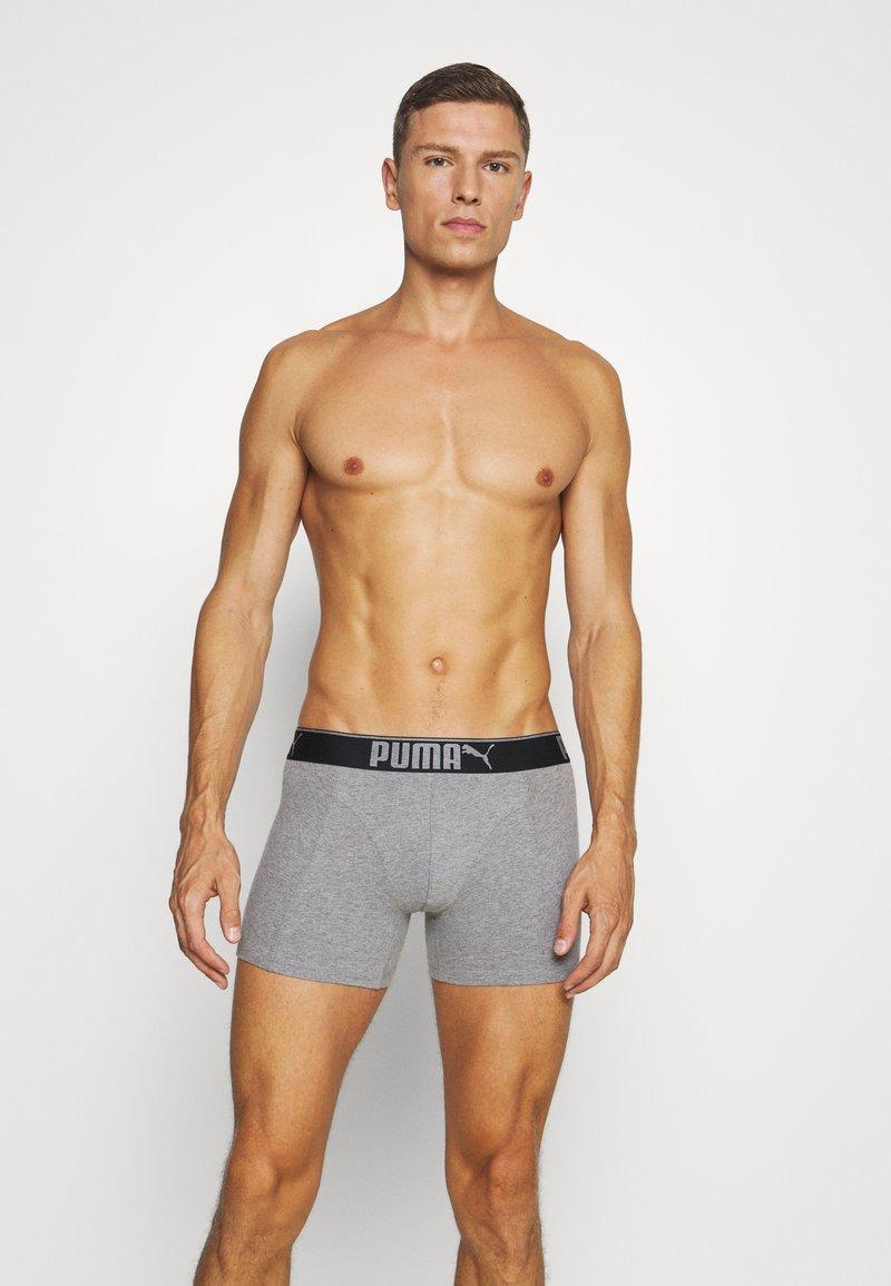 Puma - LIFESTYLE 6 PACK - Pants - grey melange