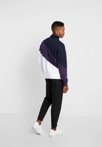 Jack & Jones - JCOHILL ZIP HIGH NECK - Sweatjacke - sky captain - 2