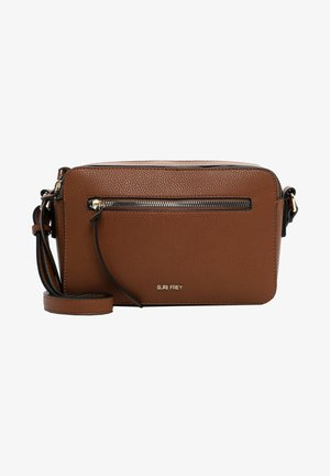 NETTY - Across body bag - cognac 700