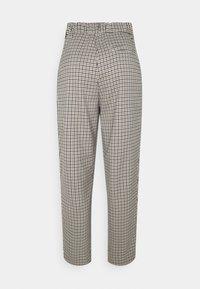 Monki - TYRA TROUSERS - Trousers - beige heritage - 1