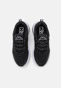 Kappa - YAKA UNISEX - Sports shoes - black/white - 3