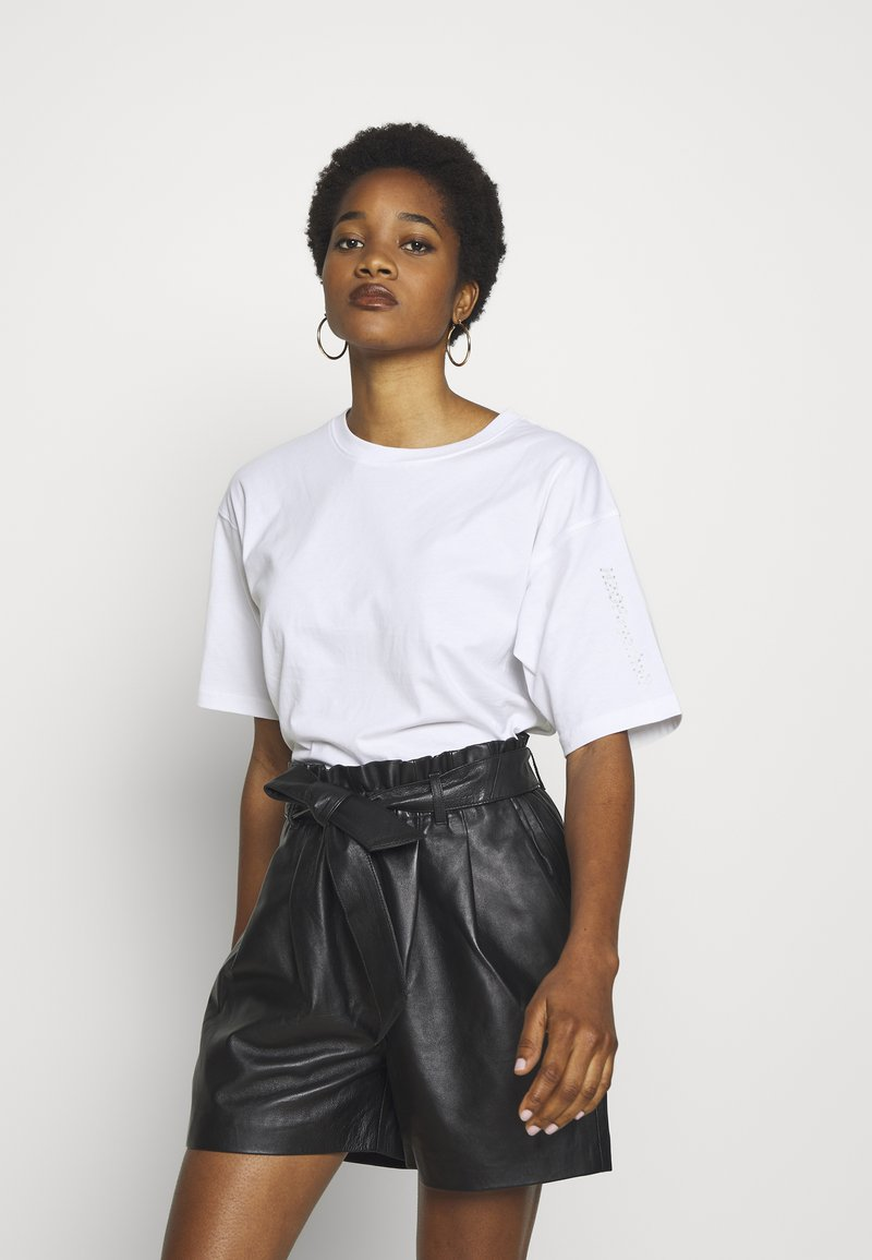 H2O Fagerholt - SECRET LOVE TEE - Print T-shirt - white