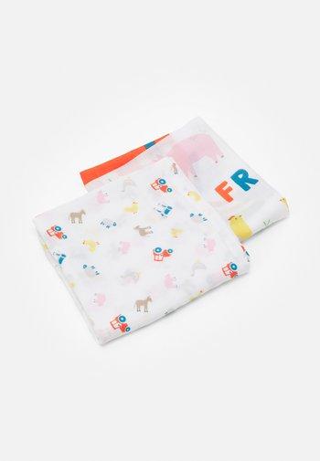 LOVELY 2 PACK UNISEX - Muslin blanket - multi-coloured
