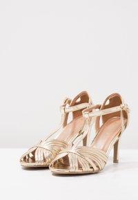 Anna Field - Højhælede sandaletter / Højhælede sandaler - gold - 3