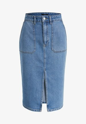 Denim skirt - denim surf blue