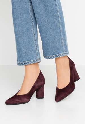 SLFALEX - Classic heels - decadent chocolate