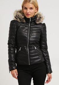 Morgan - CRAIE - Faux leather jacket - noir - 0