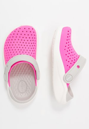 LITERIDE UNISEX - Pool slides - electric pink/white