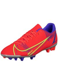 Nike Performance - MERCURIAL VAPOR ACADEMY AG F - Moulded stud football boots - bright crimson/metallic silver - 1