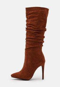 RAID - SELAH - High heeled boots - cognac - 1