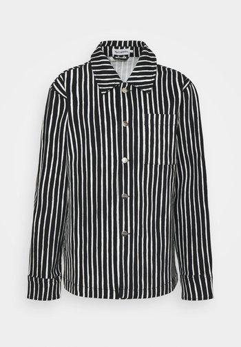 OKSILLA PICCOLO COAT - Summer jacket - offwhite/black