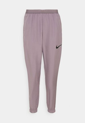 RUN PANT - Jogginghose - purple smoke/light violet/black