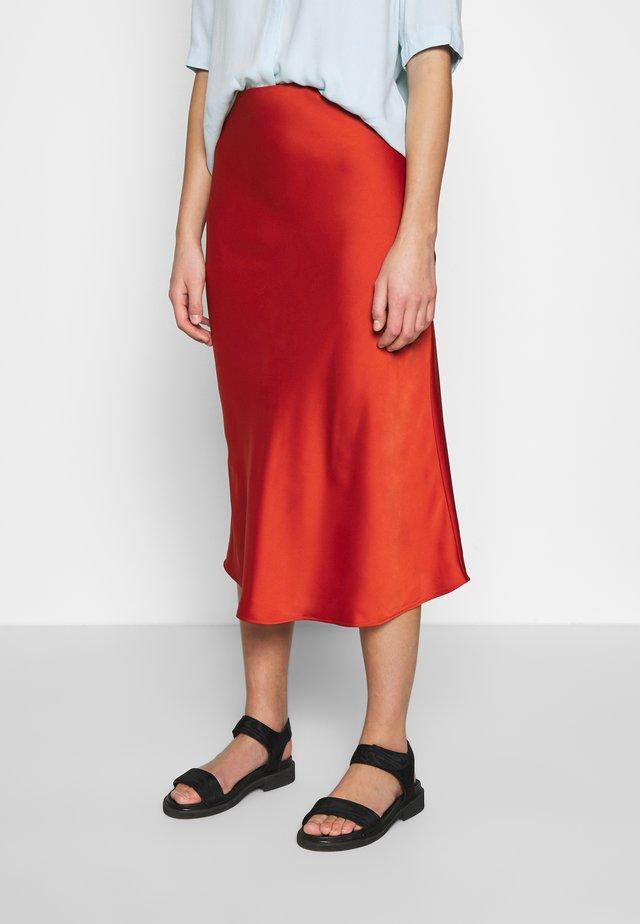 ARLEEN SKIRT - Pencil skirt - burned orange