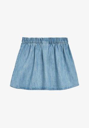 DENIM BLUE UNICORN SEQUIN SKIRT (3MTHS-7YRS) - A-line skirt - blue