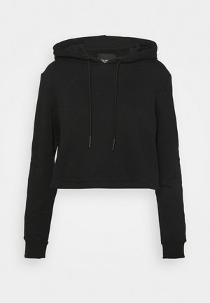 HOODED  - Sweatshirt - jet black