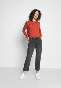 Tommy Jeans - HARPER - Straight leg jeans - black denim - 1