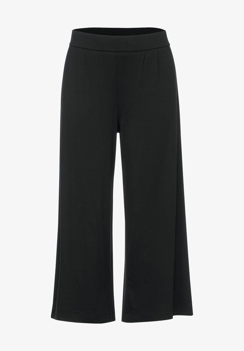 Street One - MIT WIDE LEGS - Trousers - grau