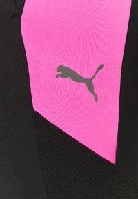 Puma - FTBLNXT PANTS - Leggings - black/luminous pink - 6