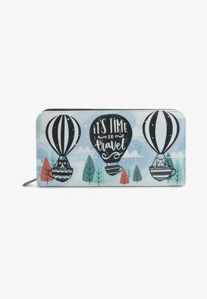 CATS IN BALLOONS - Wallet - blue