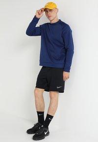 Nike Performance - DRY SHORT  - Sports shorts - black/metalic hematite - 1