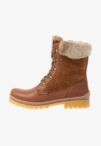 Panama Jack - TUSCANI - Lace-up ankle boots - bark - 1