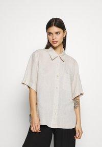 ARKET - Pyjama top - beige - 0