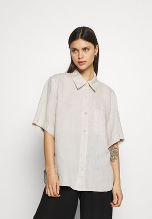 Blouse - Pyjama top - beige