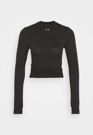 RUSH SEAMLESS - Funkční triko - black